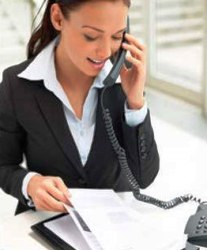 деловой телефонный разговор